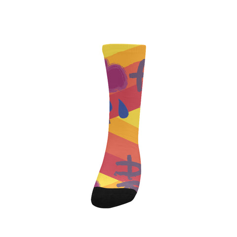 Women's Custom Socks, Art Design, Free Shipping