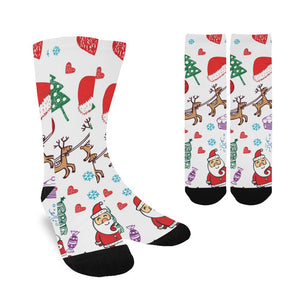 Women's Custom Holiday / Christmas Socks - Free Shipping
