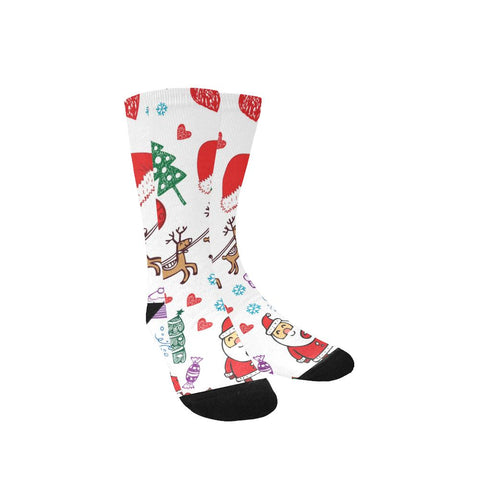 Image of Women's Custom Holiday / Christmas Socks - Free Shipping