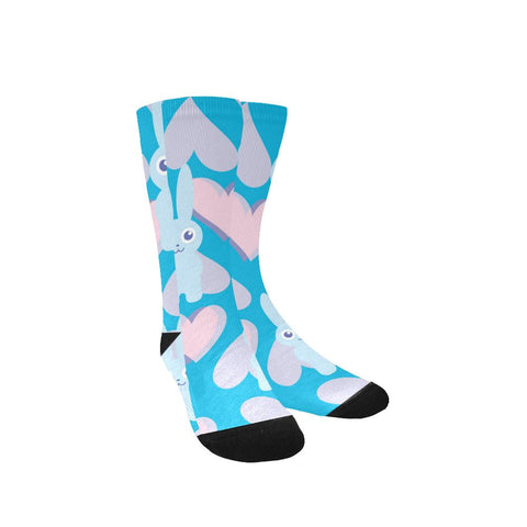 Image of Women's Custom Socks - Charity Motif (Made In USA)