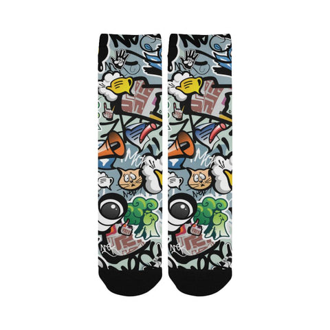 Image of Most Popular Women's Custom Socks