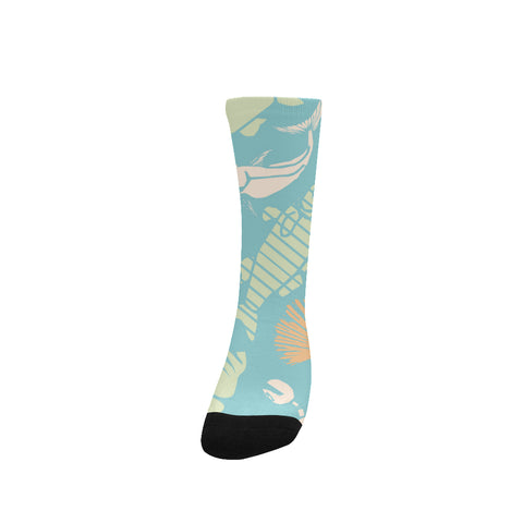 Image of Women's Custom Socks UnderSea World, Free Shipping