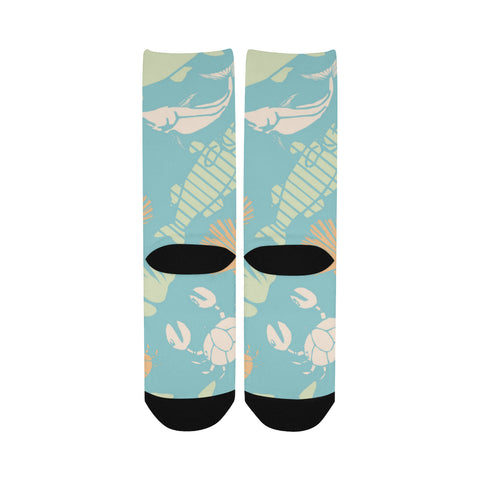 Women's Custom Socks UnderSea World, Free Shipping