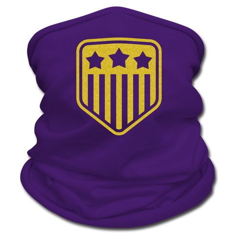 Image of Multifunctional USA Scarf by Tan's Club - purple
