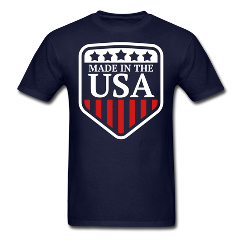 Image of Classic American T-Shirts 2 sided, Free Shipping - navy