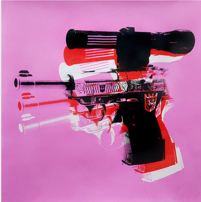 Copyright - Warhol Meets Megatron - Edition Rose - 13 exemplaires