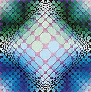 Victor Vasarely - Dell 3 - Offset