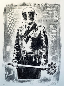 Shepard Fairey ( Obey ) - My Florist is a Dick Damaged - Edition of 400