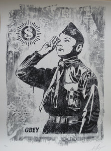 Shepard Fairey ( Obey ) -Learn to Obey Damaged - Edition of 400