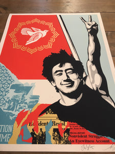 Shepard Fairey ( Obey ) - Révolution In Our Time - Edition of 500
