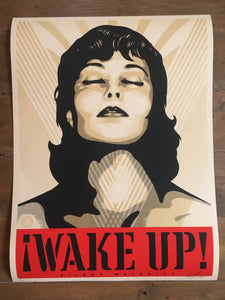 Shepard Fairey ( Obey ) - Wake Up ! - Edition of 300