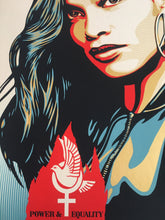 Charger l'image dans la galerie, Shepard Fairey ( Obey ) - Power & Equality ( Dove) - Edition of 400