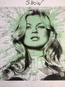 Mr Brainwash - Kate Moss - Affiche 2012