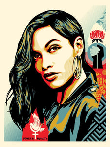 Shepard Fairey ( Obey ) - Power & Equality ( Dove) - Edition of 400