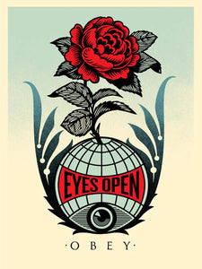 Shepard Fairey (Obey) - Eyes Open - Edition Of 625