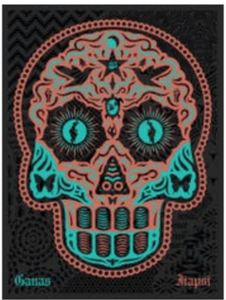Ernesto Yerena - Yaqui Day Of The Dead Copper - Edition Of 300