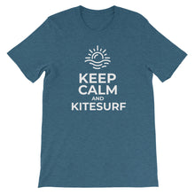 Load image into Gallery viewer, Keep Calm and Kitesurf - 100% cotton Kitesurfing T-shirt