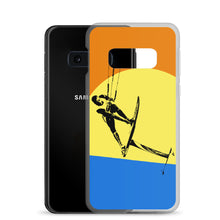 Load image into Gallery viewer, Mountain Kitesurfing Sunset - Samsung Case (BPA free)