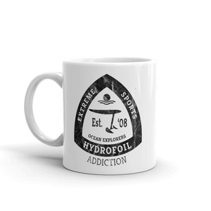 Hydrofoil Addiction Kitesurfing Mug