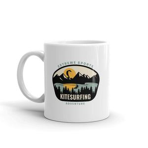 Kitesurfing Mountains Mug