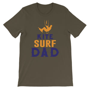 Kitesurf Dad T-shirt - 100% cotton Kitesurfing T-shirt