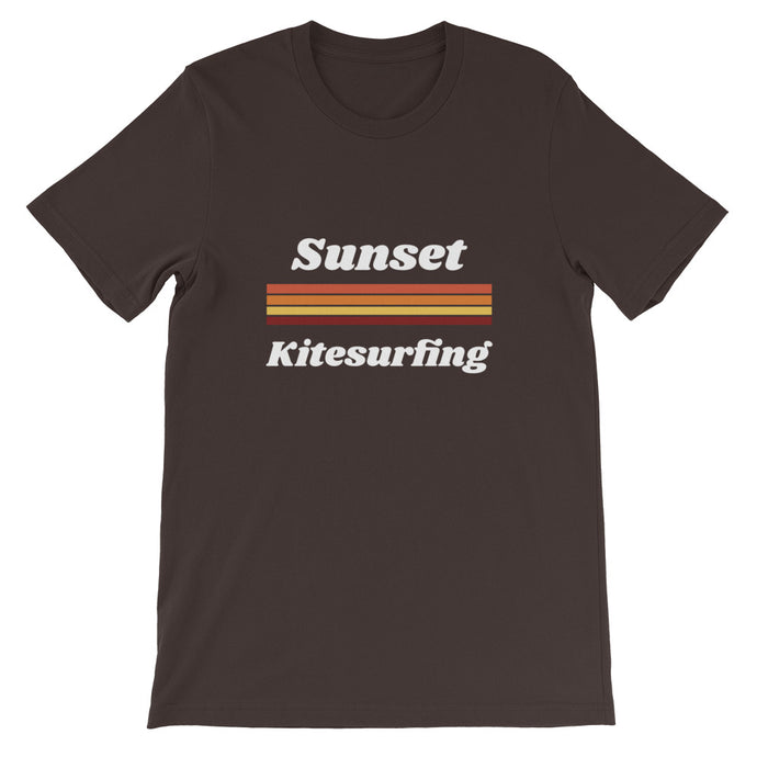 Sunset Kitesurfing - 100% cotton Kitesurfing T-shirt
