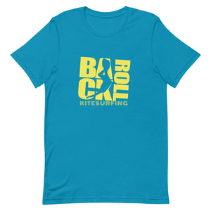 Backroll Neon - 100% cotton Kitesurfing T-shirt