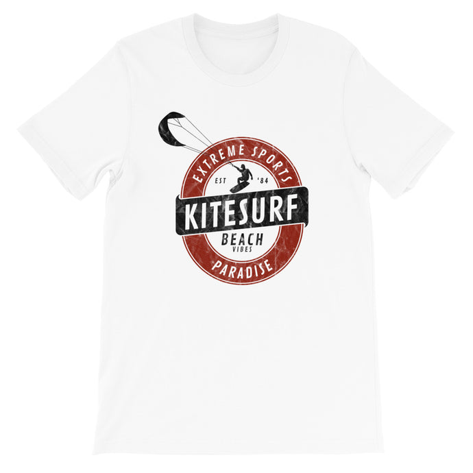 Kitesurf Kraft Logo - 100% cotton Kitesurfing T-shirt