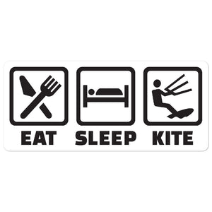 East Sleep Kite - Kitesurfing Sticker