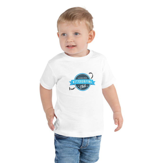 Lancing Kitesurfing Club - Official Toddler Short Sleeve Tee