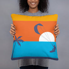 Load image into Gallery viewer, Kitesurfing Sunset Cushion/Pillow