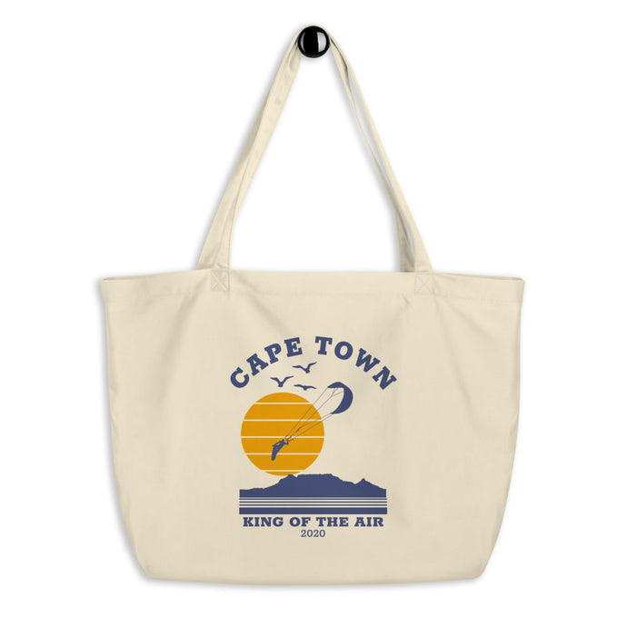 Cape Town King of the Air 2020 - Large organic tote bag