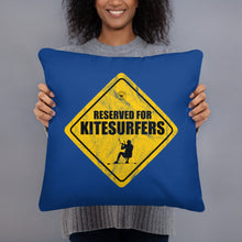 Load image into Gallery viewer, Reserved for Kitesurfers - Kitesurfing Cushion