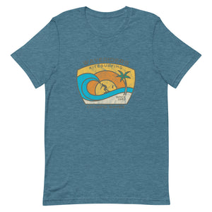 Waveriders Pastel - 100% cotton Kitesurfing T-shirt