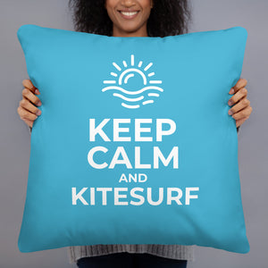Keep Calm and Kitesurf | Kitesurfing Cushion