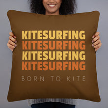Load image into Gallery viewer, Born to Kite - Kitesurfing Cushion