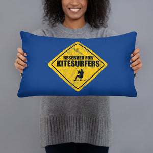 Reserved for Kitesurfers - Kitesurfing Cushion