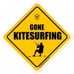 Gone Kitesurfing - Kitesurfing Sticker