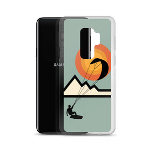 Mountain Kitesurfing Sunset - Samsung Case (BPA free)