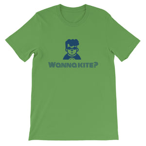Wanna Kite - 100% cotton Kitesurfing T-shirt