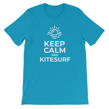 Load image into Gallery viewer, Keep calm and kitesurf t-shirt