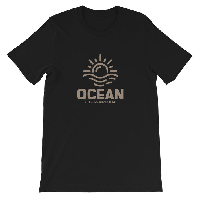 Ocean Adventure - Short-Sleeve Unisex Kitesurfing T-Shirt