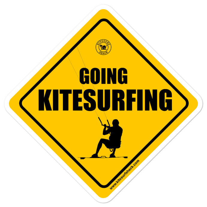 Going Kitesurfing sticker