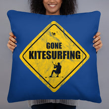 Load image into Gallery viewer, Gone Kitesurfing - Kitesurfing Cushion