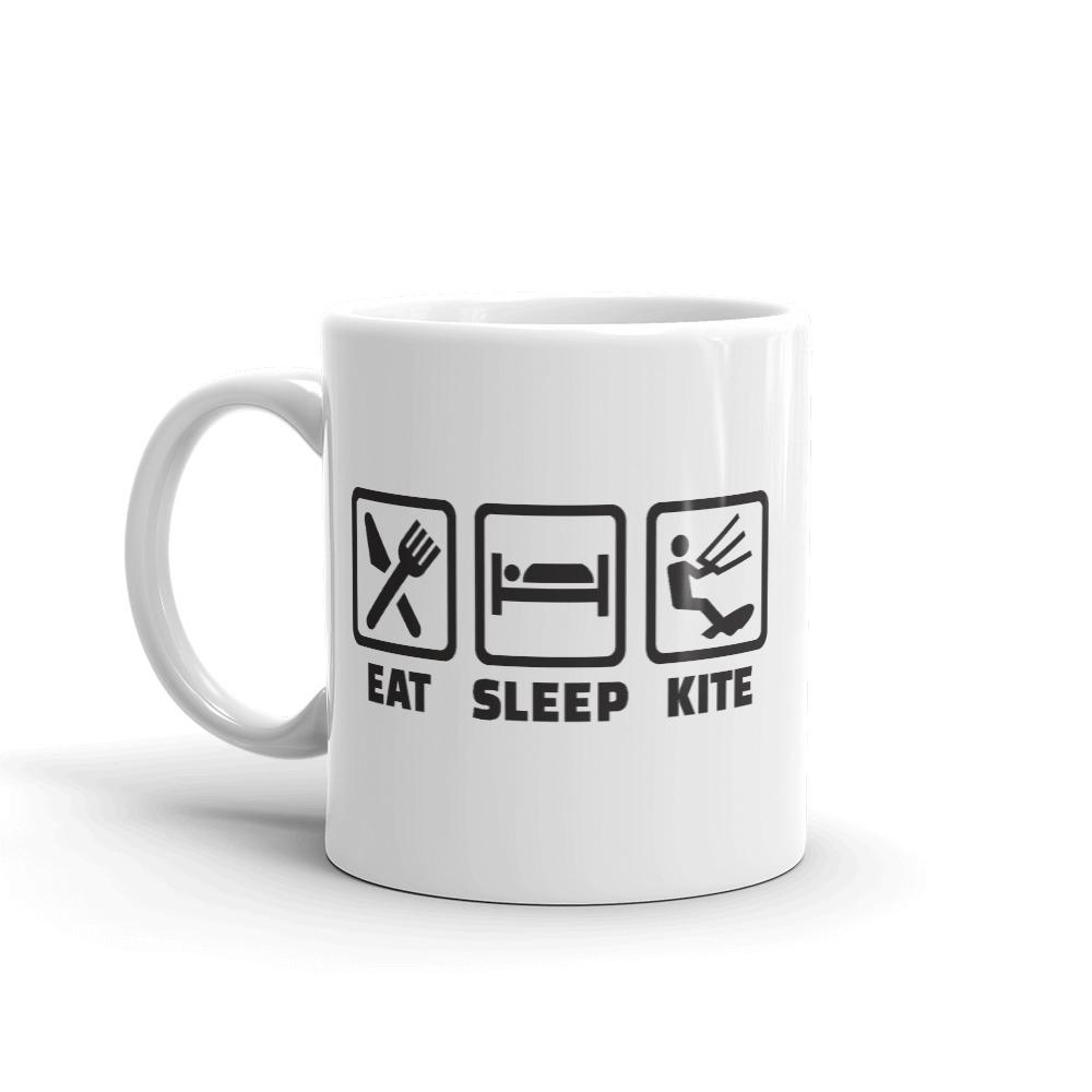 Eat Sleep Kite - Kitesurfing Mug