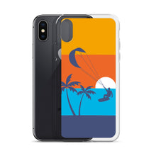 Load image into Gallery viewer, Kitesurfing Sunset - iPhone Case (BPA free)