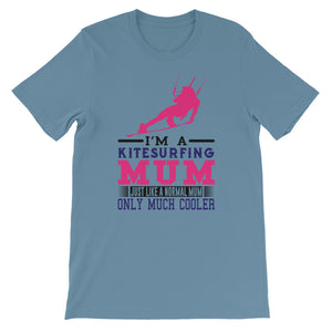 Cool Kitesurfing Mum - 100% cotton Kitesurfing T-shirt