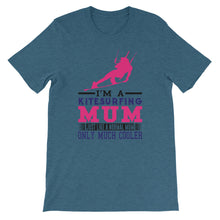 Load image into Gallery viewer, Cool Kitesurfing Mum - 100% cotton Kitesurfing T-shirt