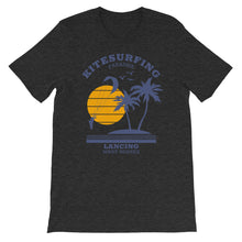 Load image into Gallery viewer, Kitesurfing Paradise Unhooked, Lancing - 100% cotton Kitesurfing T-shirt