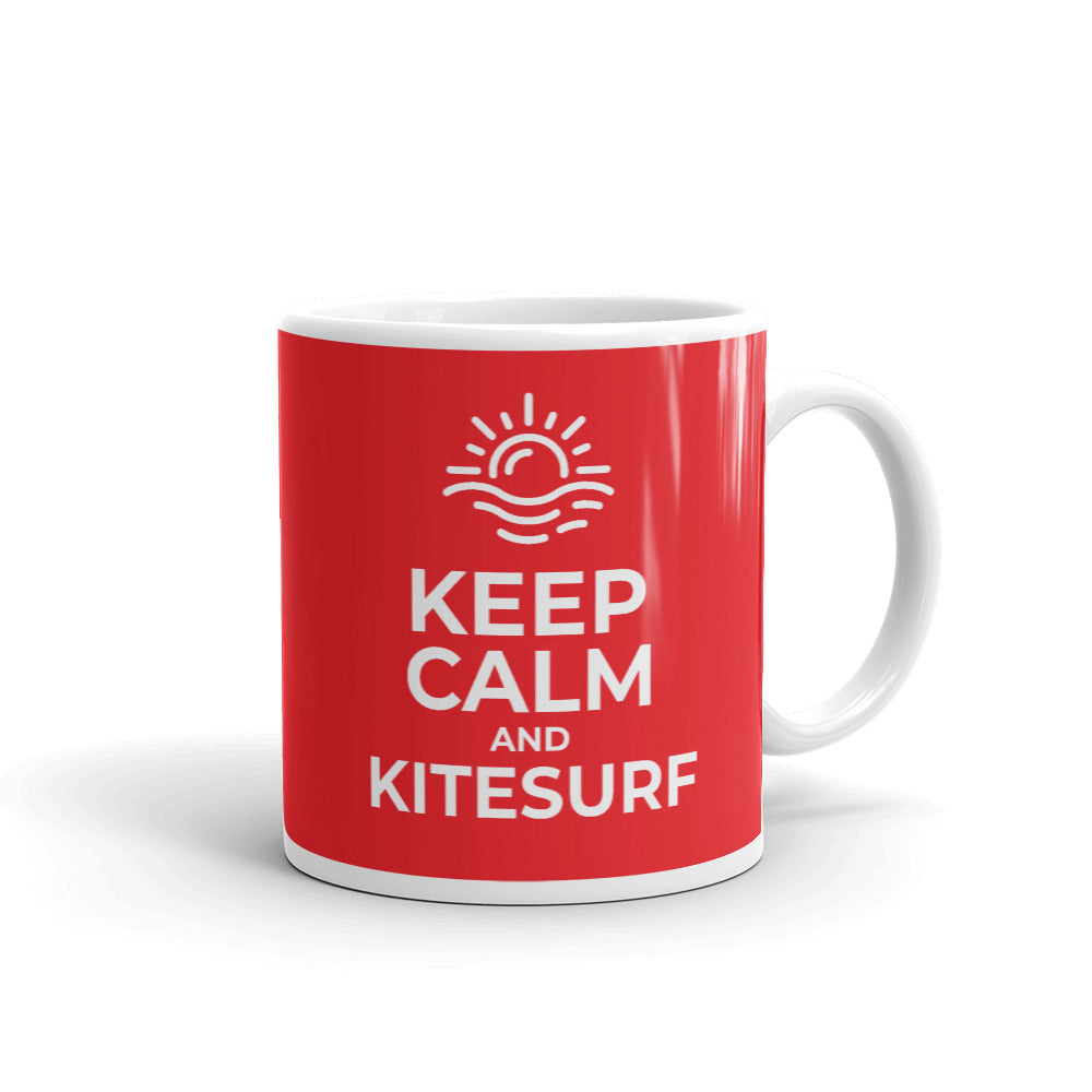 Keep Calm and Kitesurf - Kitesurfing Mug